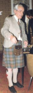 Philiological challenge - A man in a kilt